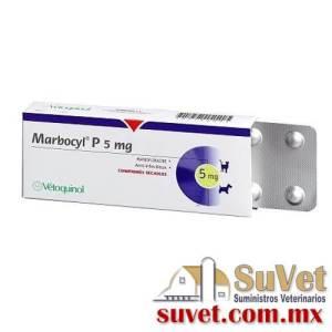 Marbocyl ® P  caja con 100 comprimidoss de 5 mg - SUVET