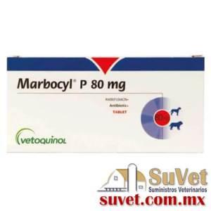Marbocyl ® P  caja con 72 comprimidoss de 80 mg - SUVET