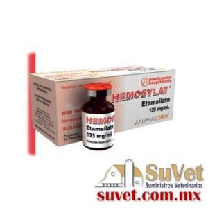 Hemosylat ® caja con 10 frascos de 2 ml - SUVET