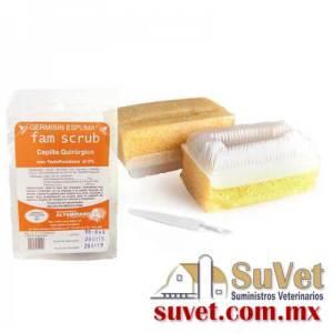 Cepillo Quirúrgico con Yodopovidona 8%  de 1 pieza - SUVET