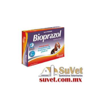Bioprazol 24 tabs. caja con 24 tabletass de 20 mg - SUVET