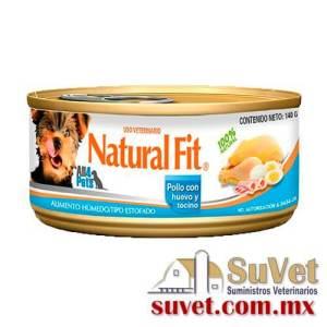 NF Adulto RP Pollo con huevo y tocino 140 g lata de 140 gr - SUVET