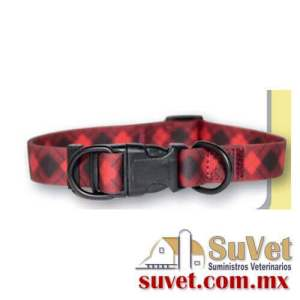 Collar nyl pvc azu m  pieza de 1 pieza - SUVET