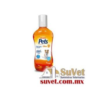 Pets Shampoo Citrus 250 ml frasco de 250 ml - SUVET