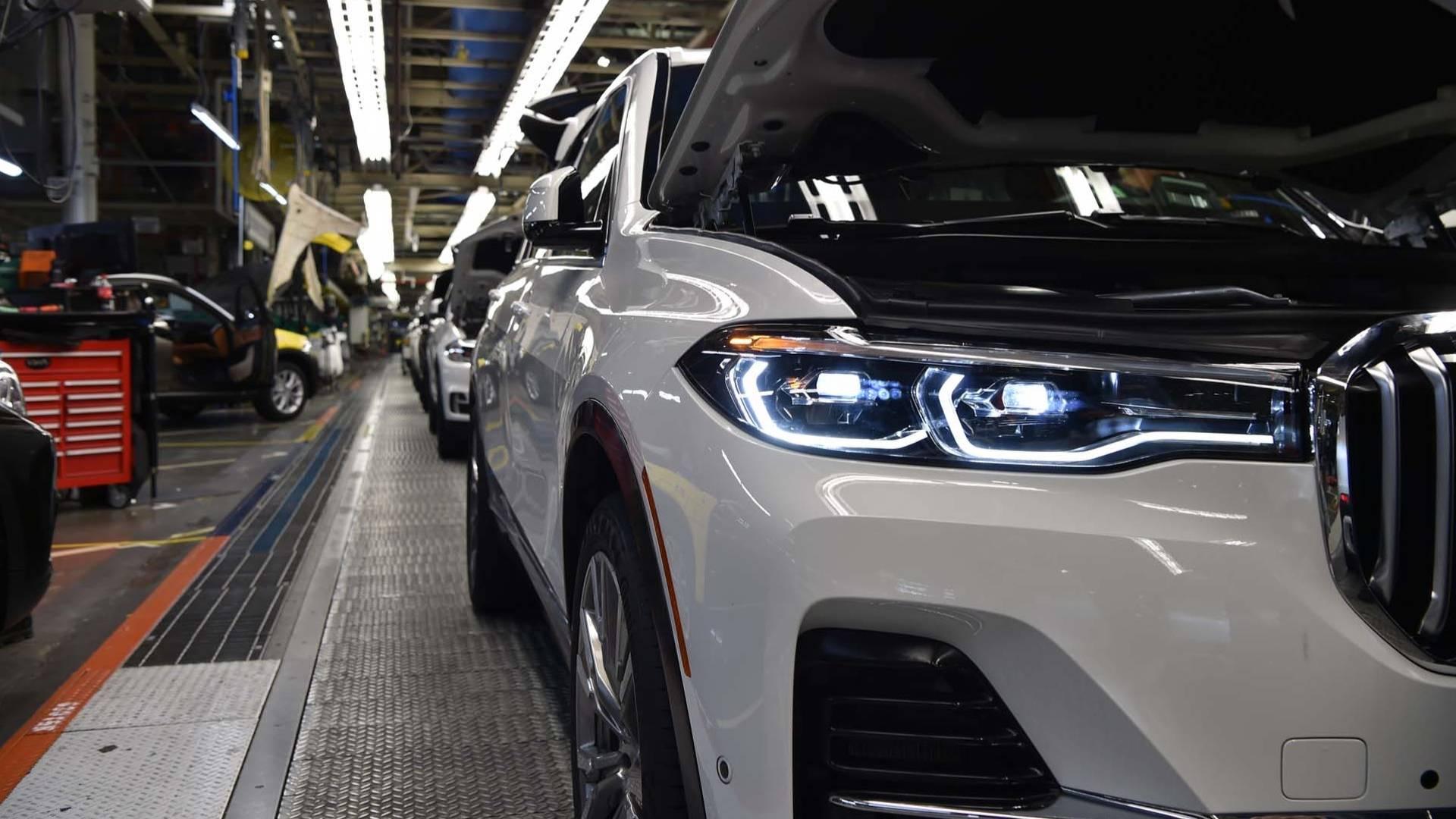 2019 BMW X7 Drivetrain