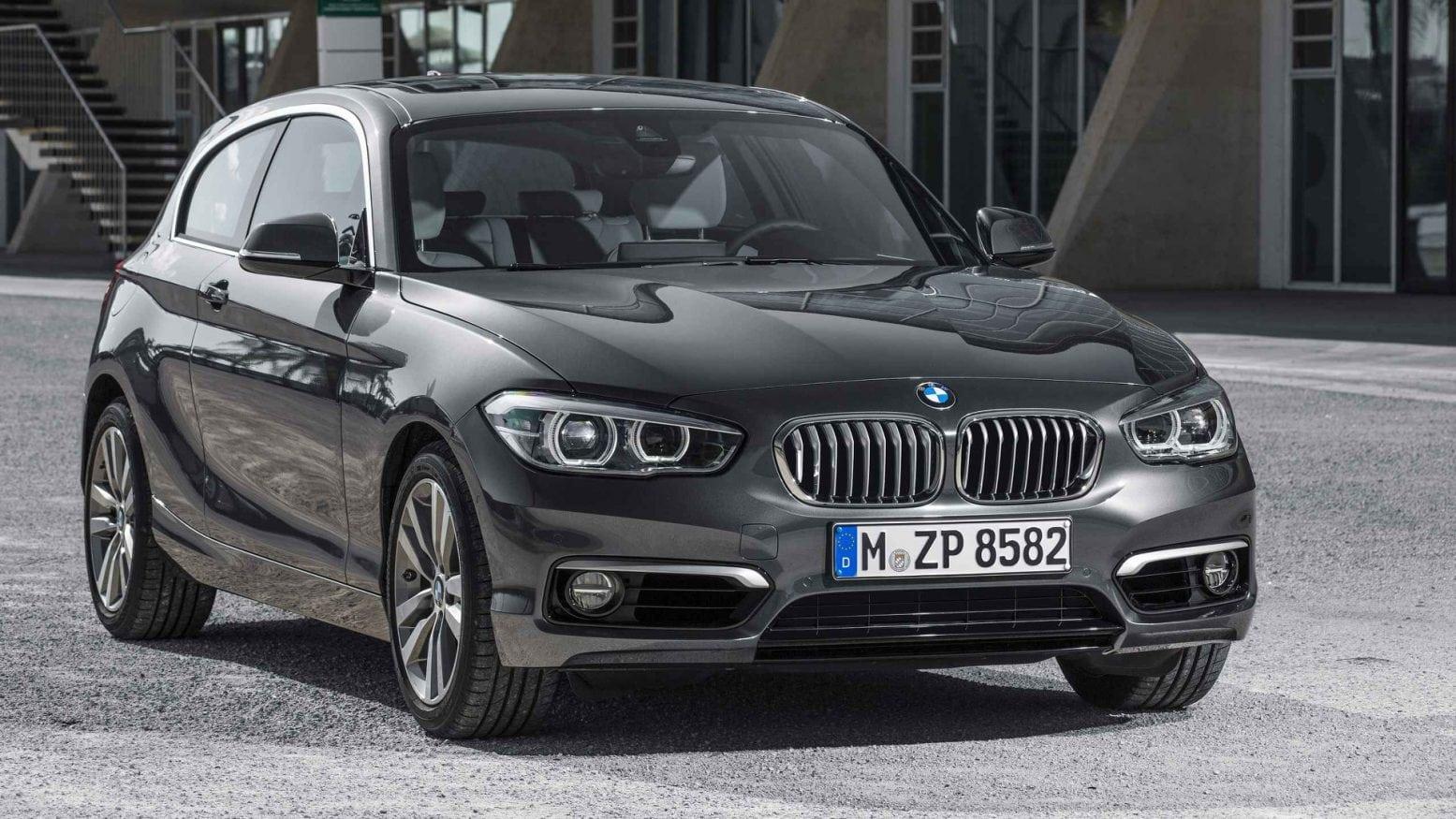 2020 BMW 1 Series Interior