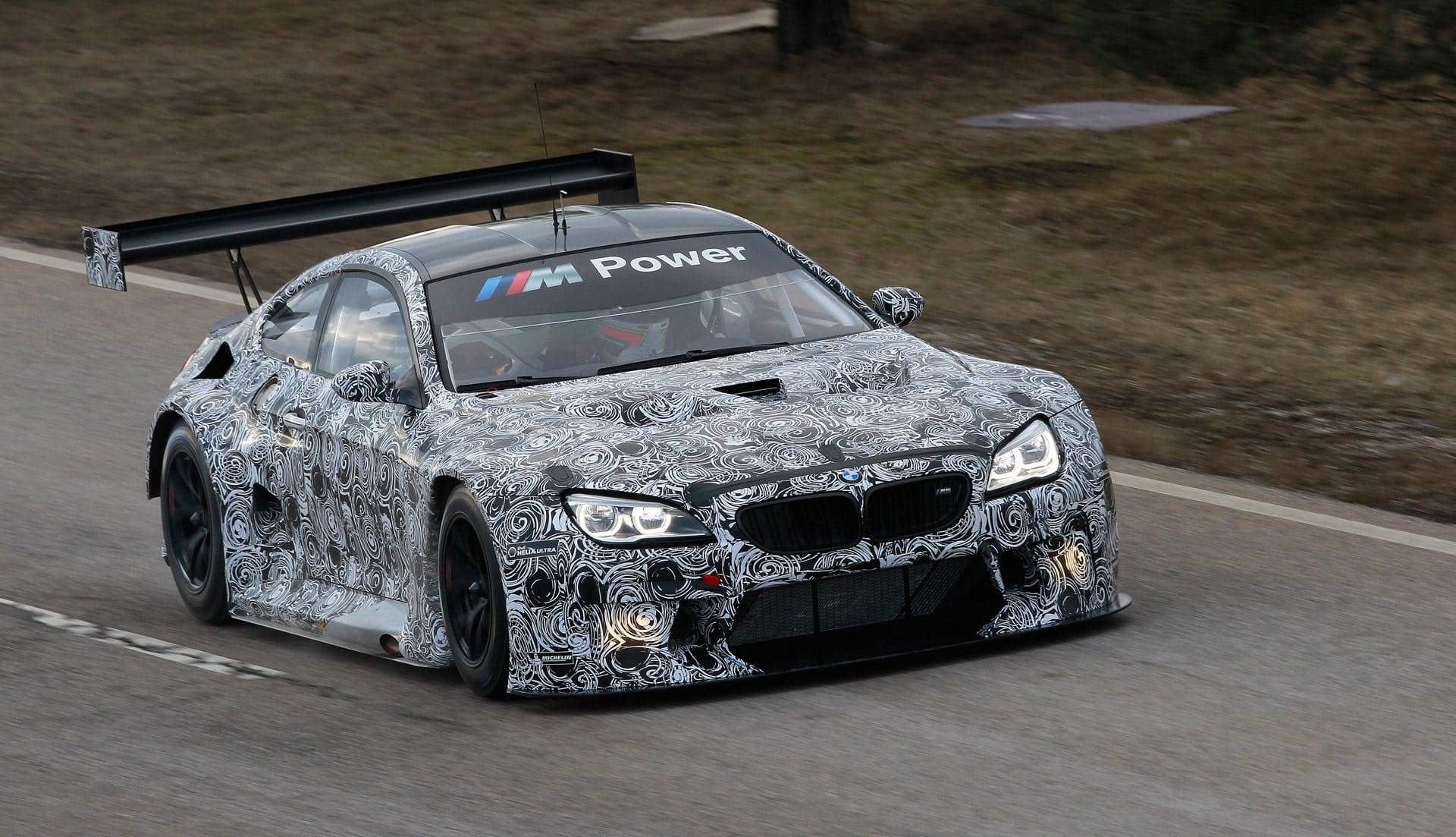 2020 BMW M6 GT3 Engine