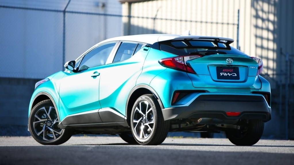2019 Toyota C HR Spy Shots