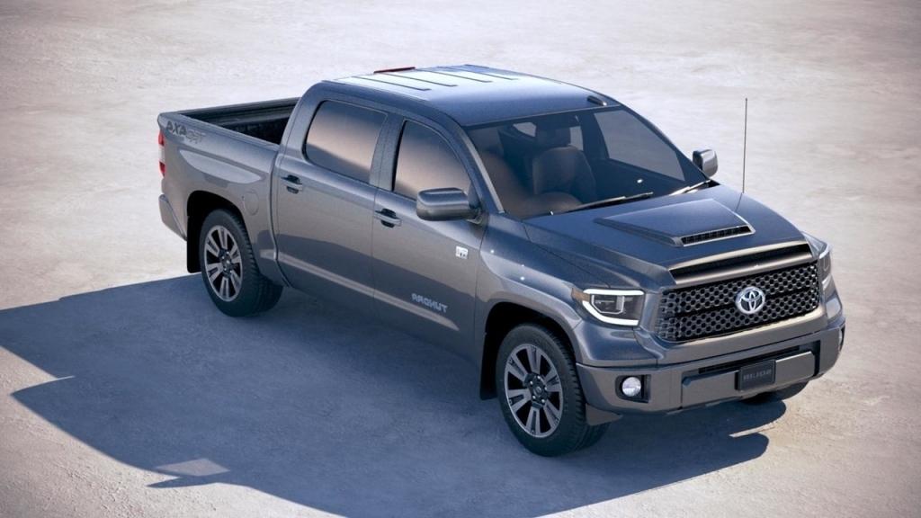 2020 Toyota Tundra Spy Shots