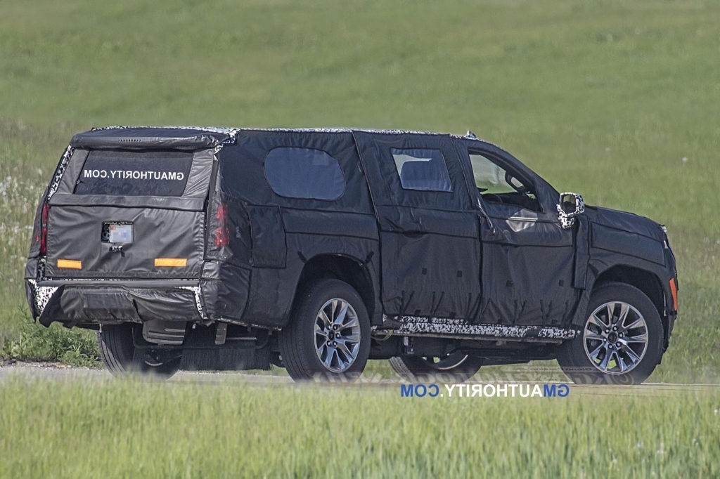 2020 Chevy Tahoe Spy Photos