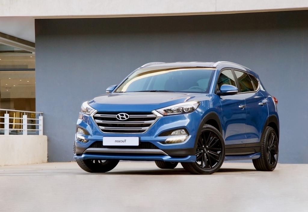 2020 Hyundai Tucson Spy Photos