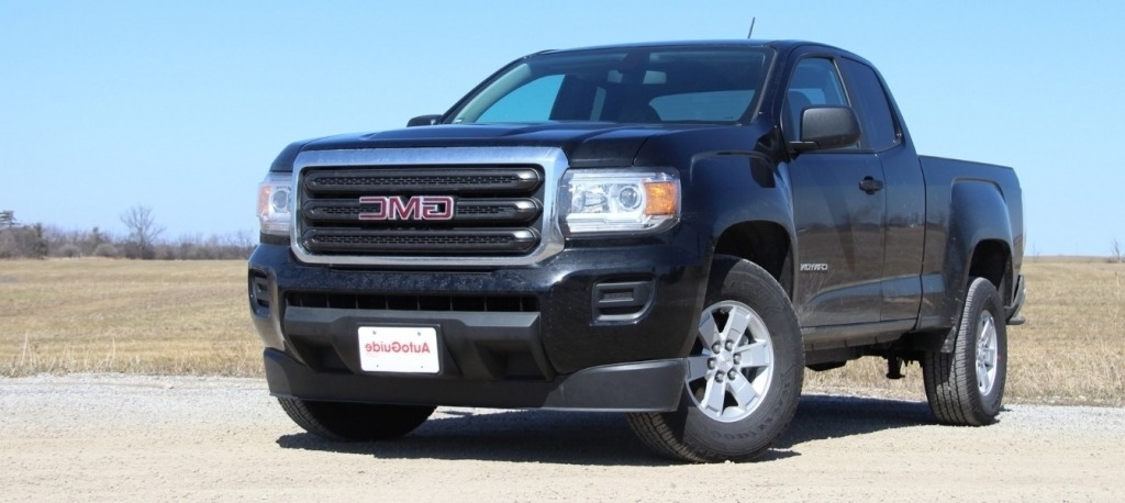 2020 GMC Canyon Spy Shots