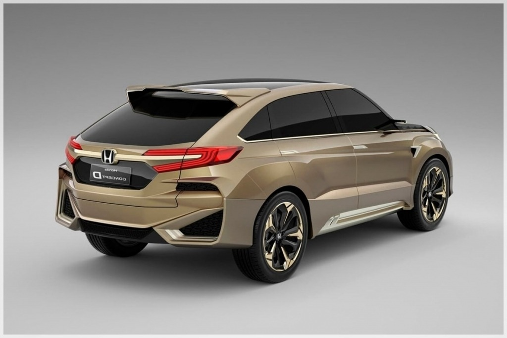2020 Honda Crosstour Redesign