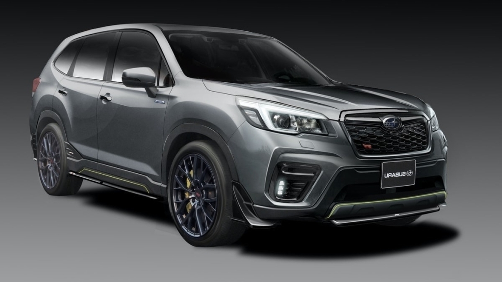 2021 Subaru Forester Spy Photos