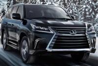2021 Lexus LX Spy Photos