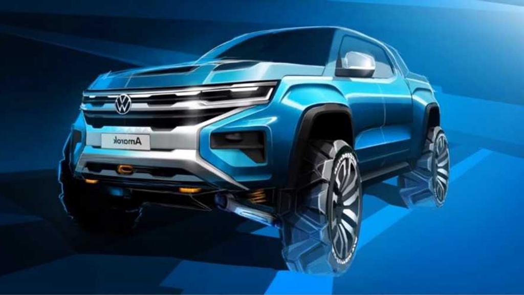 2022 VW Atlas Tanoak Pickup Truck Drivetrain