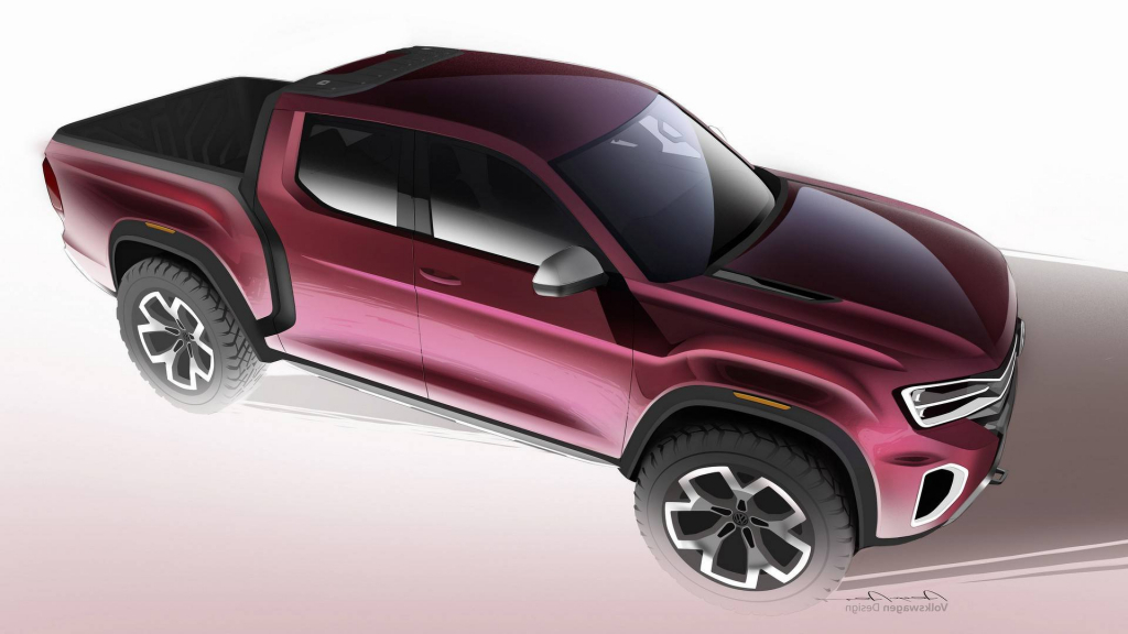 2022 VW Atlas Tanoak Pickup Truck Powertrain