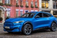 2022 Ford MachE Spy Photos