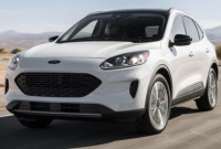 2021 Ford Escape Powertrain