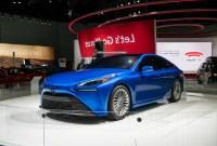 2022 Toyota Mirai Hydrogen Fuel Cell EV Specs