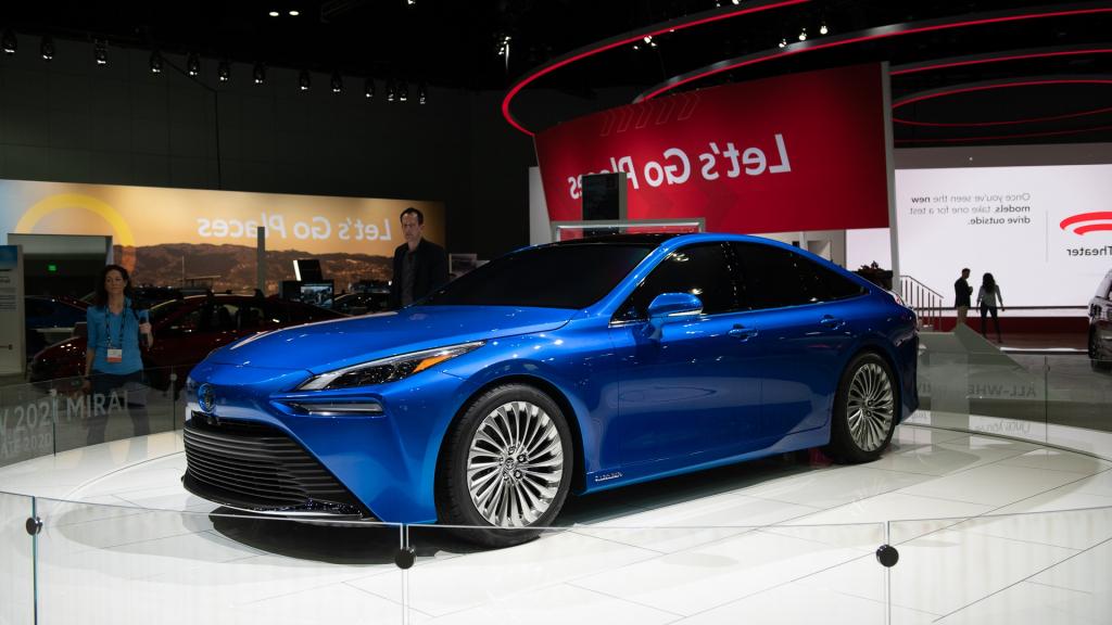2022 Toyota Mirai Hydrogen Fuel Cell EV Wallpaper