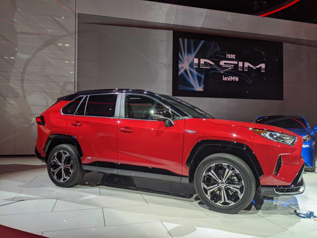 2022 Toyota RAV4 Prime Engine