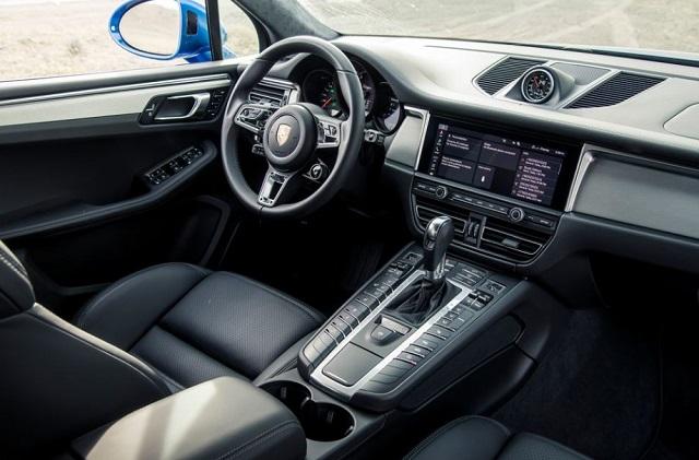 2022 Porsche Macan EV interior