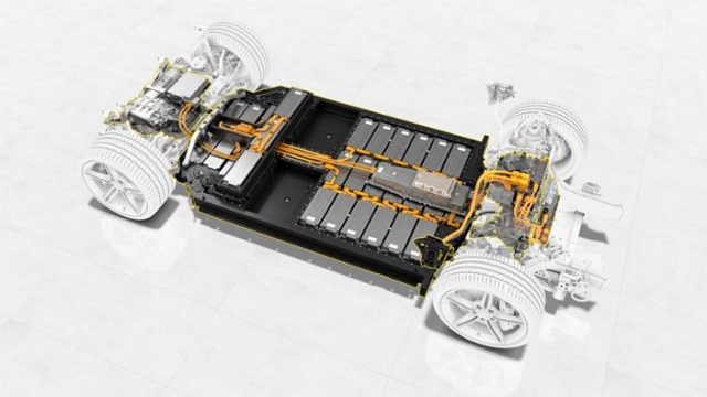 2022 Porsche Macan EV system