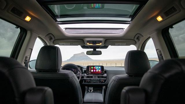 2023 Nissan Pathfinder interior