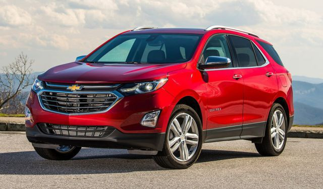 2019 Chevy Equinox front