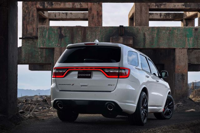 2019 Dodge Durango rear