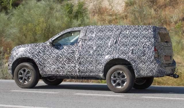 2019 Nissan Patrol spied