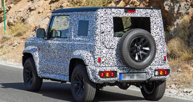 2019 Suzuki Jimny spied