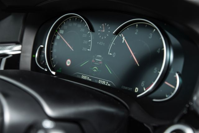 2019 BMW X5 interior view
