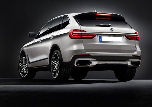 2019 BMW X5 rear