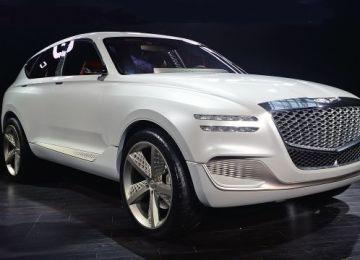 2019 Genesis GV80 SUV front