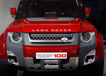 2019 Land Rover Defender concept