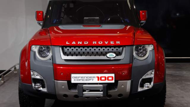 2019 Land Rover Defender concept