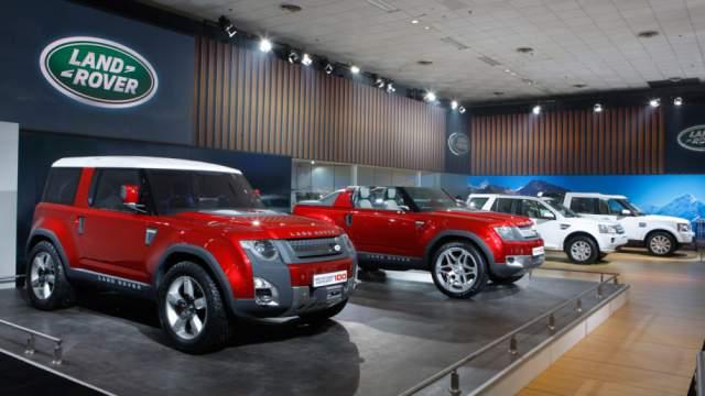 2019 Land Rover Defender exterior