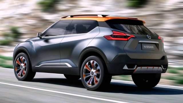 2019 Nissan Juke rear