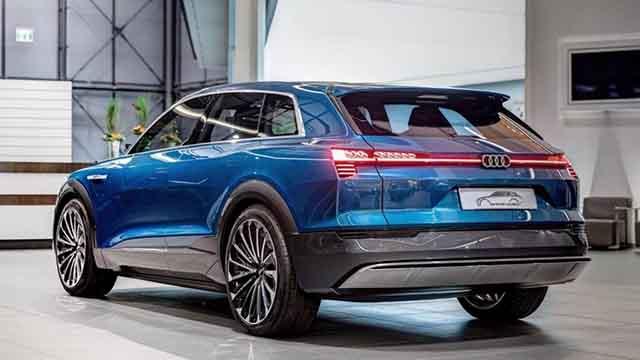 2019 Audi Q5 rear
