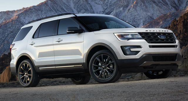 2019 Ford Explorer side