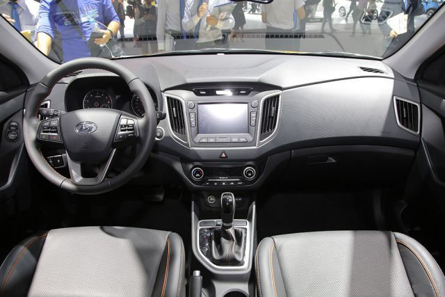 2019 Hyundai Creta interior
