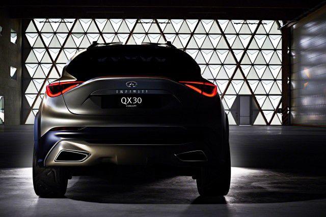 2019 Infiniti QX30 rear
