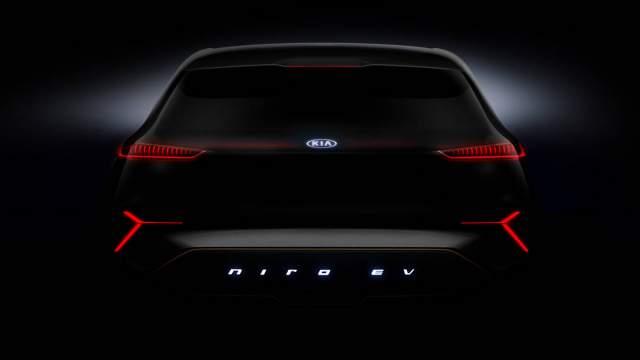 2019 Kia Niro EV rear
