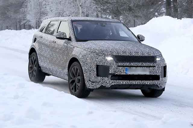 2019 Range Rover Evoque Mk2