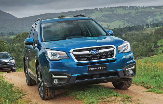 2019 Subaru Forester front