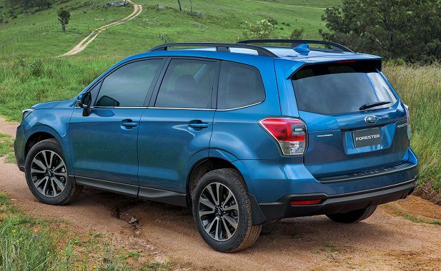 2019 Subaru Forester side