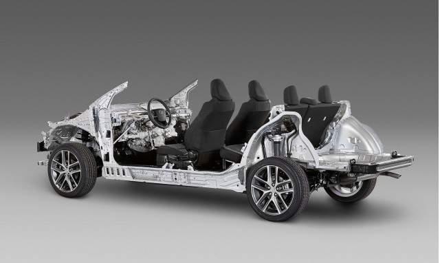 2019 Toyota FJ Cruiser FT-4X concept TNGA platform