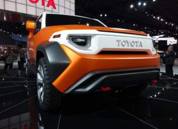 2019 Toyota FJ Cruiser FT-4X concept front